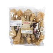 Howlers - Howlers Natural Rawhide Knotted Bones