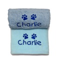 Personalised Puppy Gift Set - Blue