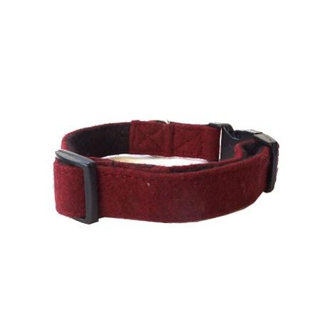 Wool Collar - Maroon