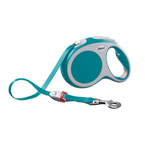VARIO Large Retractable Lead 8m - Turquoise