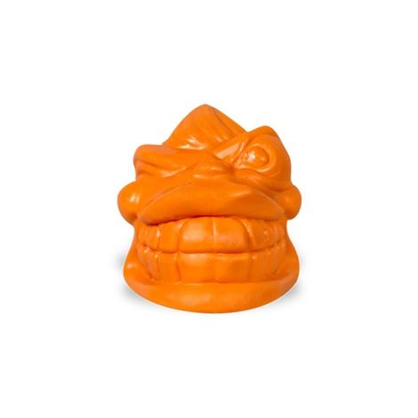 Snoggz Rip Van Fetcher Dog Ball Toy – Orange