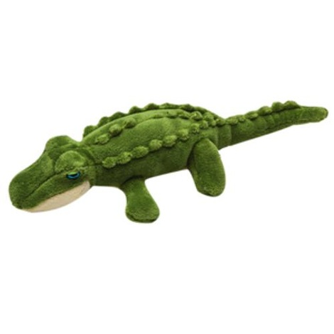 Fluff & Tuff Plush Dog Toy – Savannah the Baby Gator