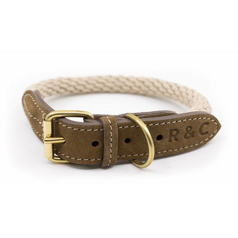 Rope collar (Braided) - Ivory 2