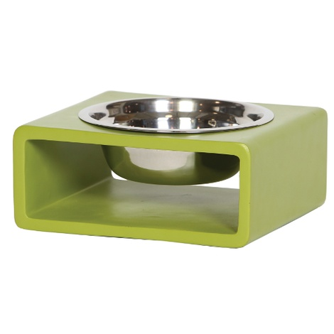 Phorm Dog Bowl - Green - Medium