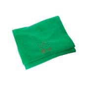 PetsPyjamas - Personalised Green Christmas Blanket - Italic font
