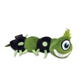 Green Scurry Monster Plush Dog Toy