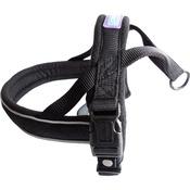 Hem & Boo - Reflective Padded Dog Harness - Black