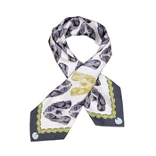 Lisa Bliss - Basset Hound Silk Scarf