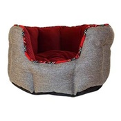 Happy Pet - Christmas Classic Oval Pet Bed