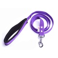 Fleece Comfort Dog Lead – Purple
