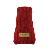 Bowl&Bone Republic - Aspen Dog Pullover - Red