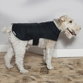 Navy Waxed Waterproof Dog Coat 3