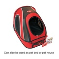 Mobile Pet Carrier in Red 3