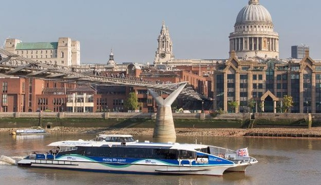 MBNA Thames Clippers River Bus