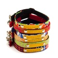 Sunset Red Cat Collar 5