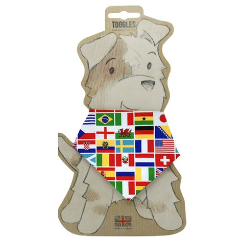Toggles Nation Flags Puppy & Dog Bandana