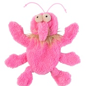 FuzzYard -  Flat Out Scratchette the Flea Plush Dog Toy