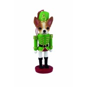 NFP - Tan & White Chihuahua Nutcracker Soldier Ornament