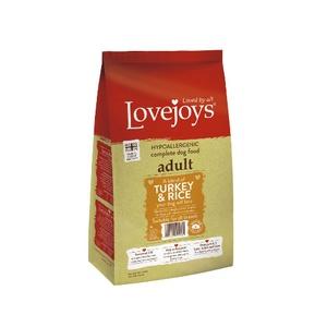 Lovejoys Adult Turkey & Rice Dry Dog Food 12kg