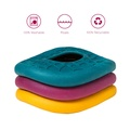 Zogoflex Air™ Dash Dog Frisbee – Peacock 2