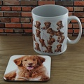 Personalised Mug and Coaster Set - My Dog