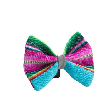 Inca Blue Dog Bow Tie 2