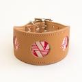 Geo Pink Hound Collar