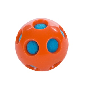 Splash Bombz Dog Toy – Orange Ball