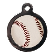 PS Pet Tags - Baseball Pet ID Tag