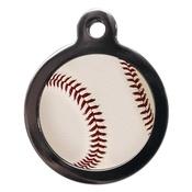 PS Pet Tags - Baseball Pet ID Tag