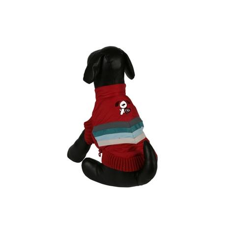 Red Bomber Dog Jacket