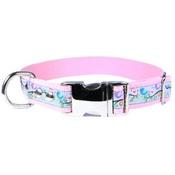 CanineAllStars - Birds of Spring Dog Collar – Light Pink