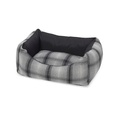 Tweed & Water Resistant Square Dog Bed 2