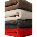 Double Fleece Dog Blanket - Mocha 4