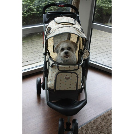 Precious Buggy for Dogs - Cream 2