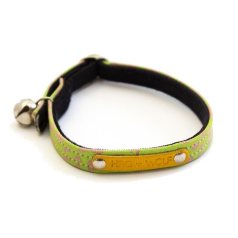Neon Leopard Cat Collar 2