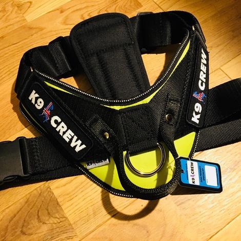 K9 CREW Neon Harness 3