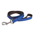 DO&G Leather Dog Lead - Navy