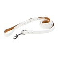 Tuscany Leather Dog Lead – White