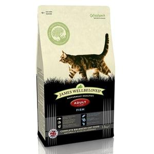 Fish & Rice Adult Dry Food Cat Food