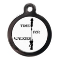 Time For Walkies Pet ID Tag