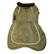Go Walk - Go Walk 2-in-1 Thermal Dog Coat – Olive Green