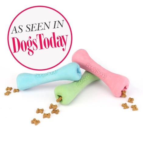 BecoBone Dog Toy - Pink 2