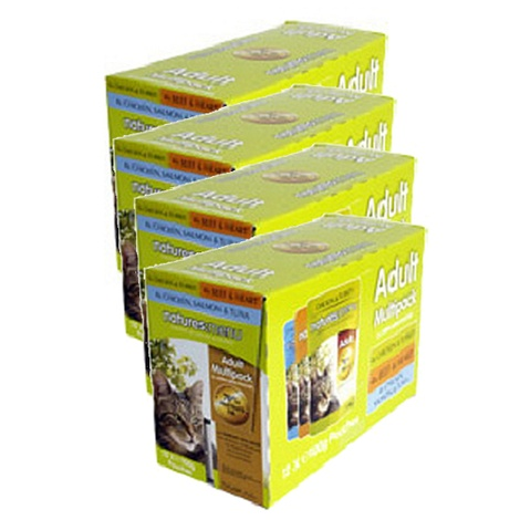 Multi-Pack Cat Food x 12
