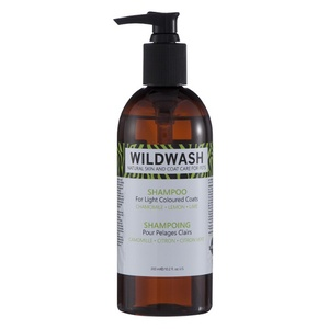 WildWash Pet Shampoo for Light Coloured Coats (300ml)