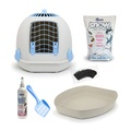 The Igloo' for Cats Starter Kit – Arctic Blue