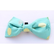 Pet Pooch Boutique - Green Pineapple Bow Tie
