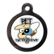 PS Pet Tags - Pet Detective Pet ID Tag