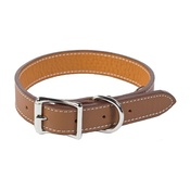 Auburn Leathercrafters - Tuscany Leather Dog Collar – Brown