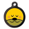 Blushing Doggie Face Dog ID Tag